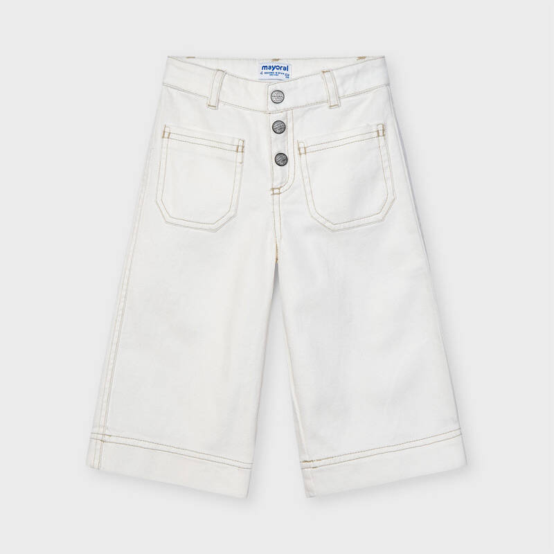 JEANS OFFWHITE BREDE PIJP MAYORAL REF 3556