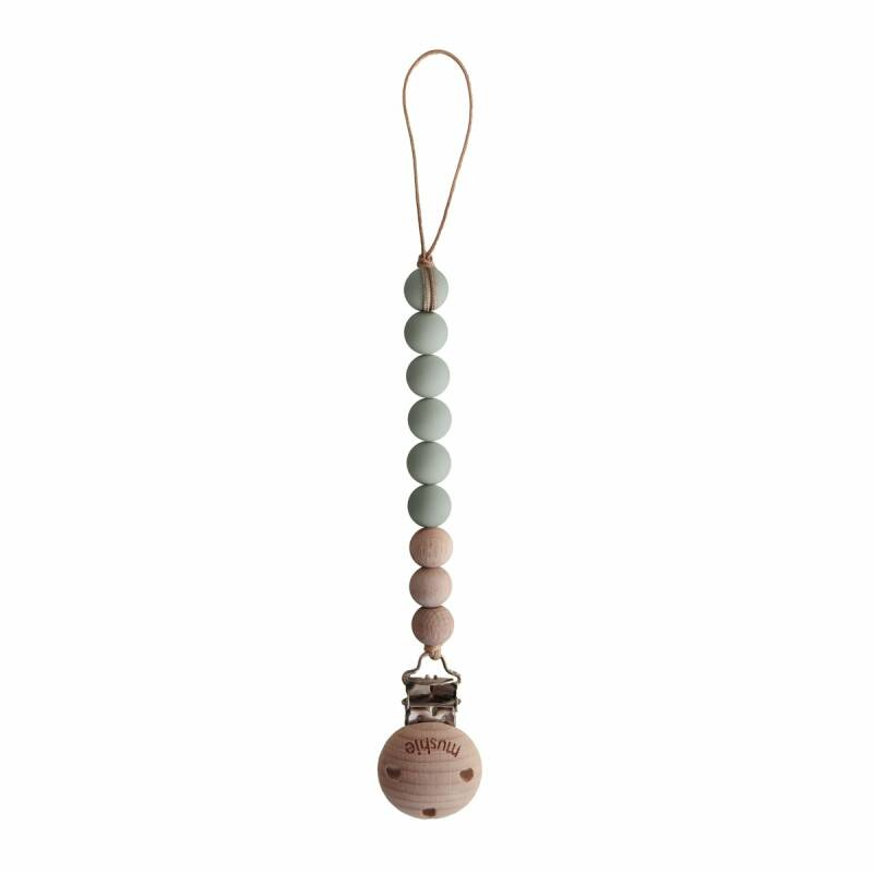 SPEENKETTING MUSHI SAGE/WOOD