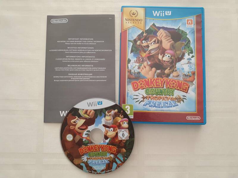 Donkey kong tropical freeze Nintendo selects