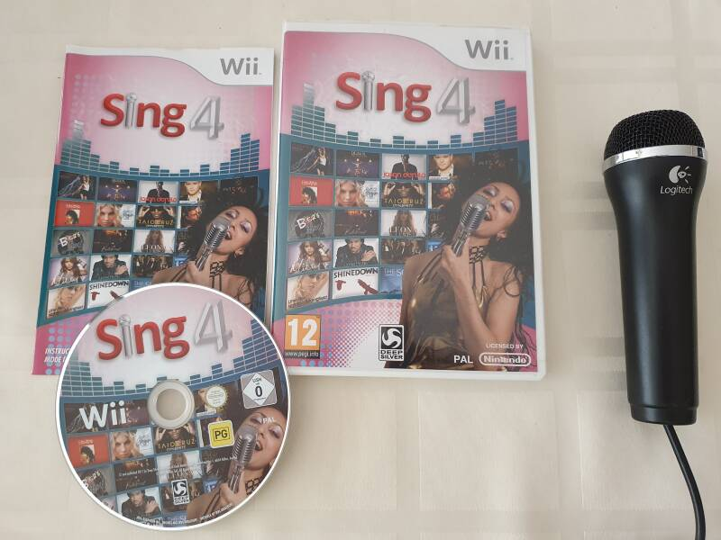 Sing 4 + microfoon