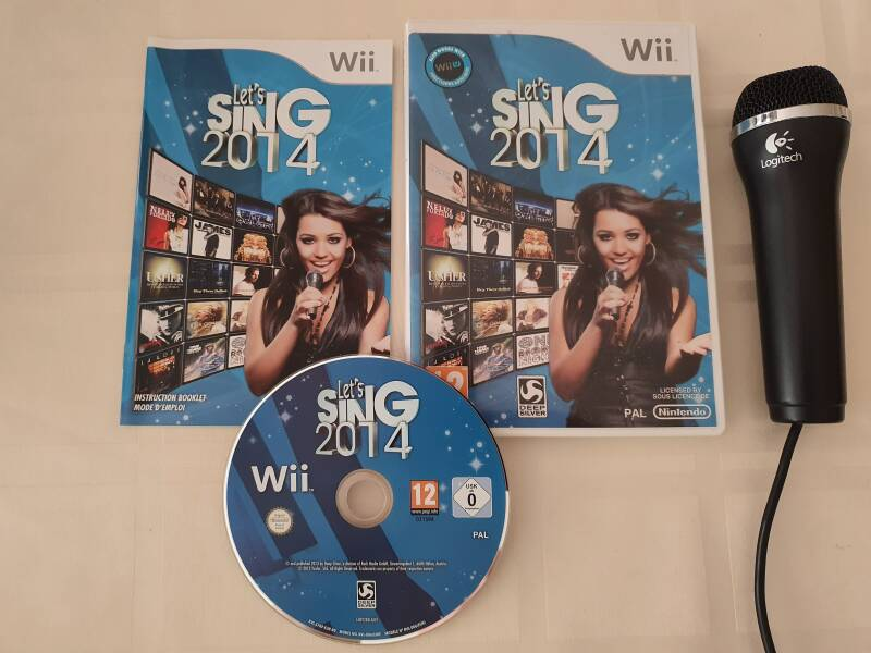 Let's Sing 2014 + microfoon