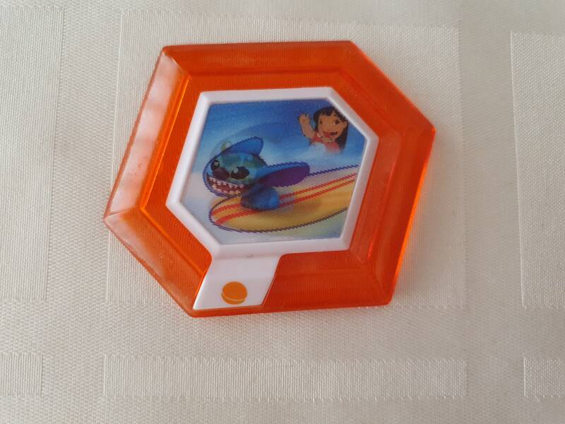 Hangin Ten Stich With Surfboard Orange