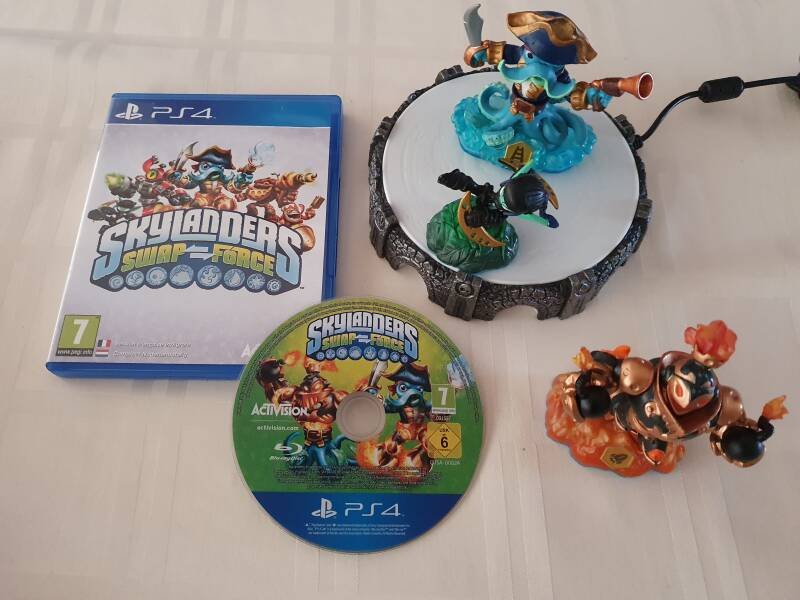 Skylanders swap force start