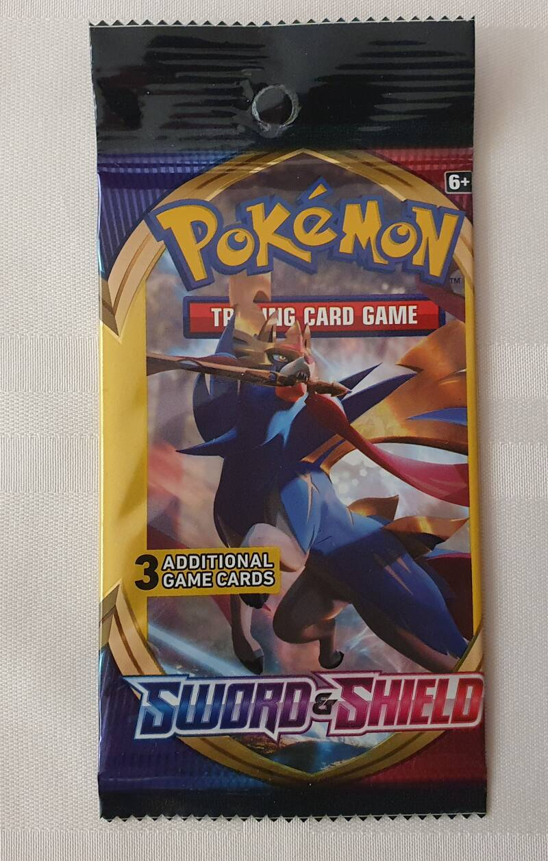 Trading card game pack #3