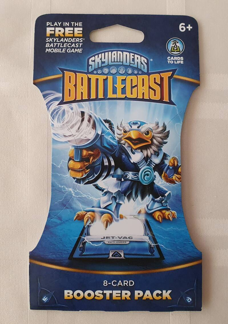Jet-vac 8 card booster pack
