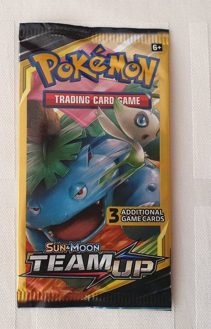 Trading card game pack #6