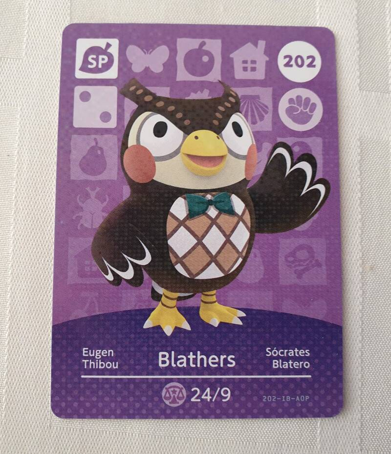 Blathers 202