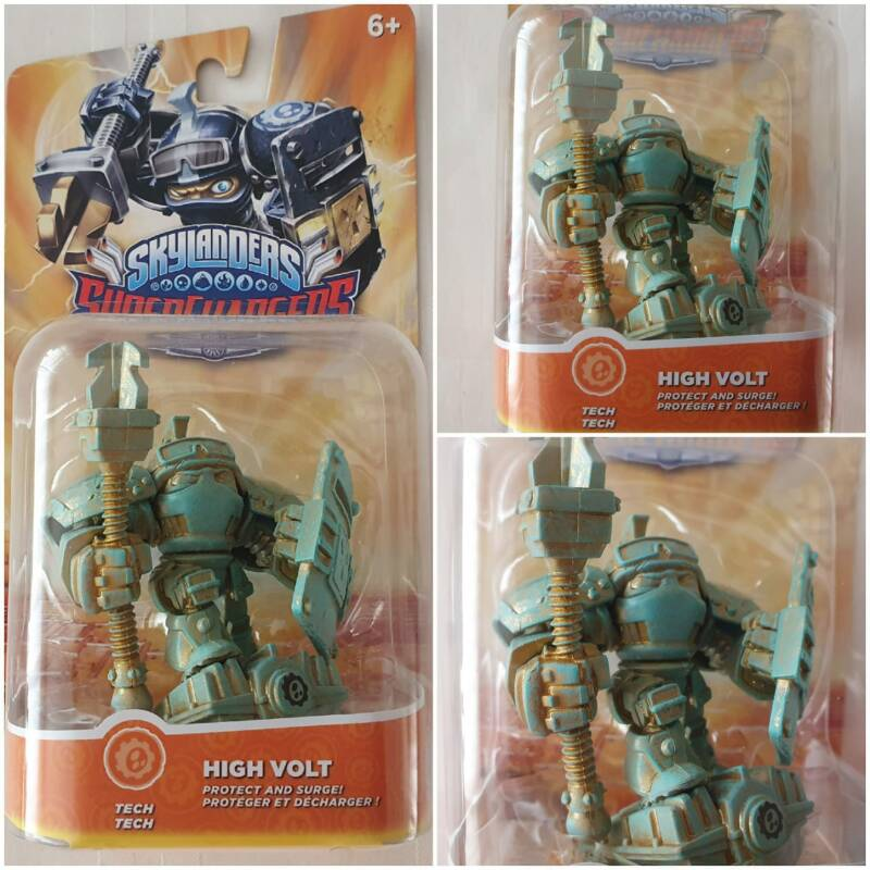 Skylanders superchargers patina high volt