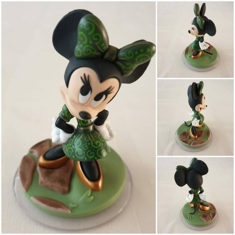 Minnie mousse painted