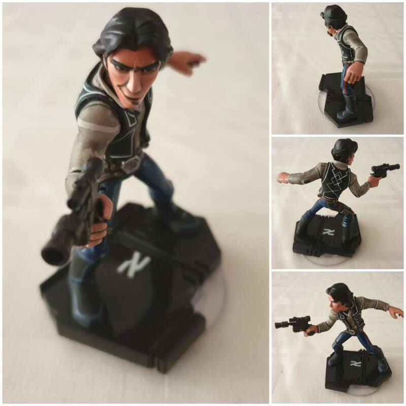 Han solo painted