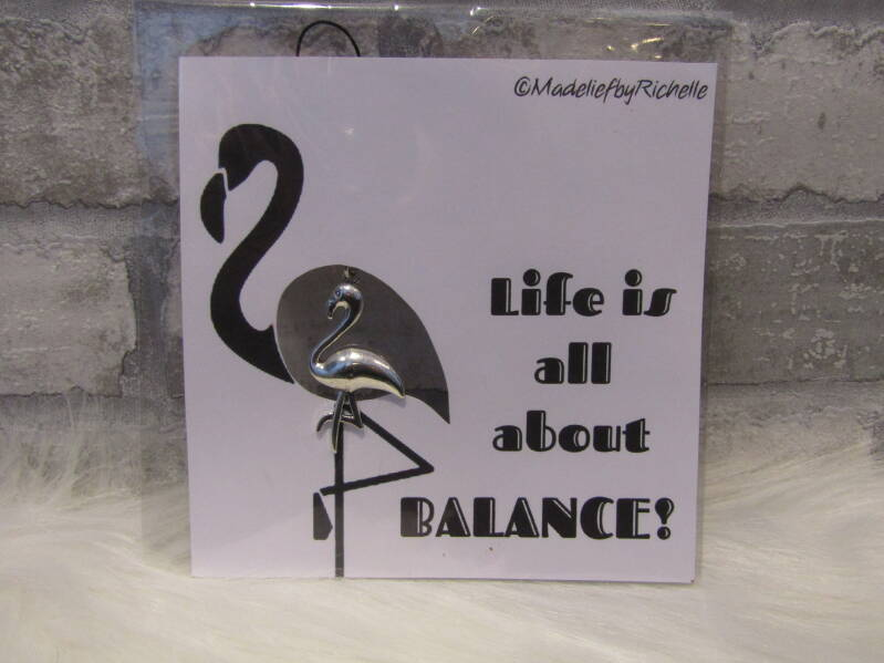 Kaart Life is all about balance