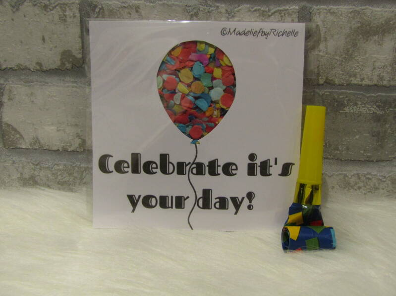 Kaart Celebrate it's your day