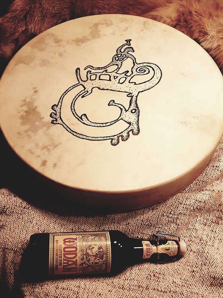 Viking based drum