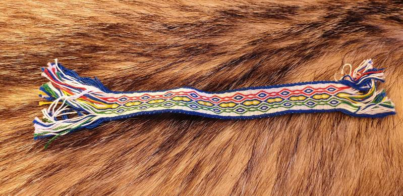 Tablet braided Bookmark 002