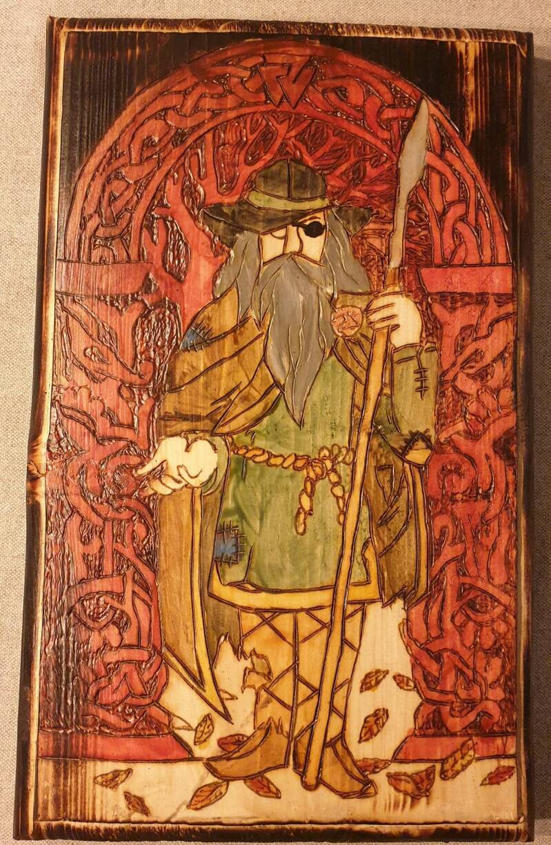 The all father Odin