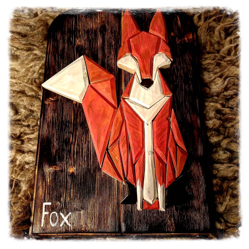 geometric Red Fox