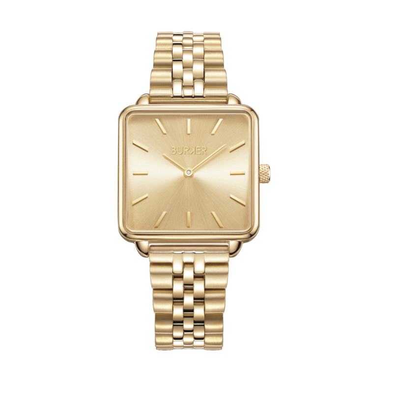 Burker Watch   Chloe Gold Limited Edition