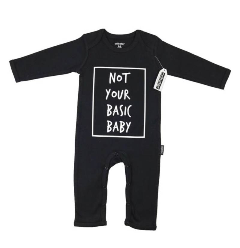 Longsleeve jumpsuit | not your basic baby