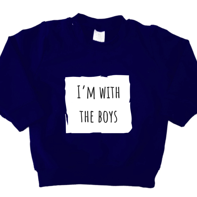 Sweater | i'm with the boys
