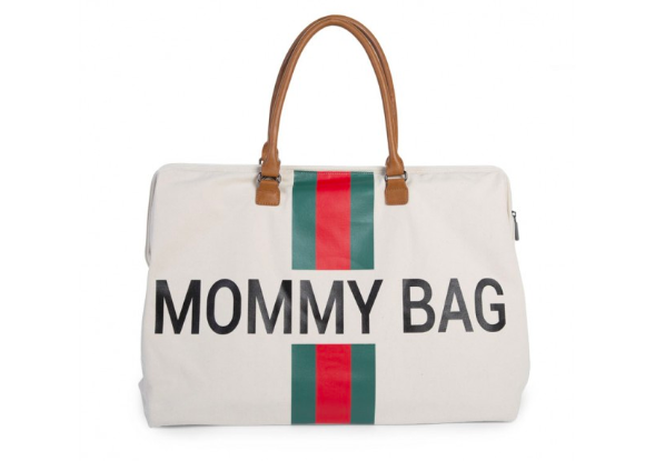 Mommy Bag | White - Green - Red | Childhome