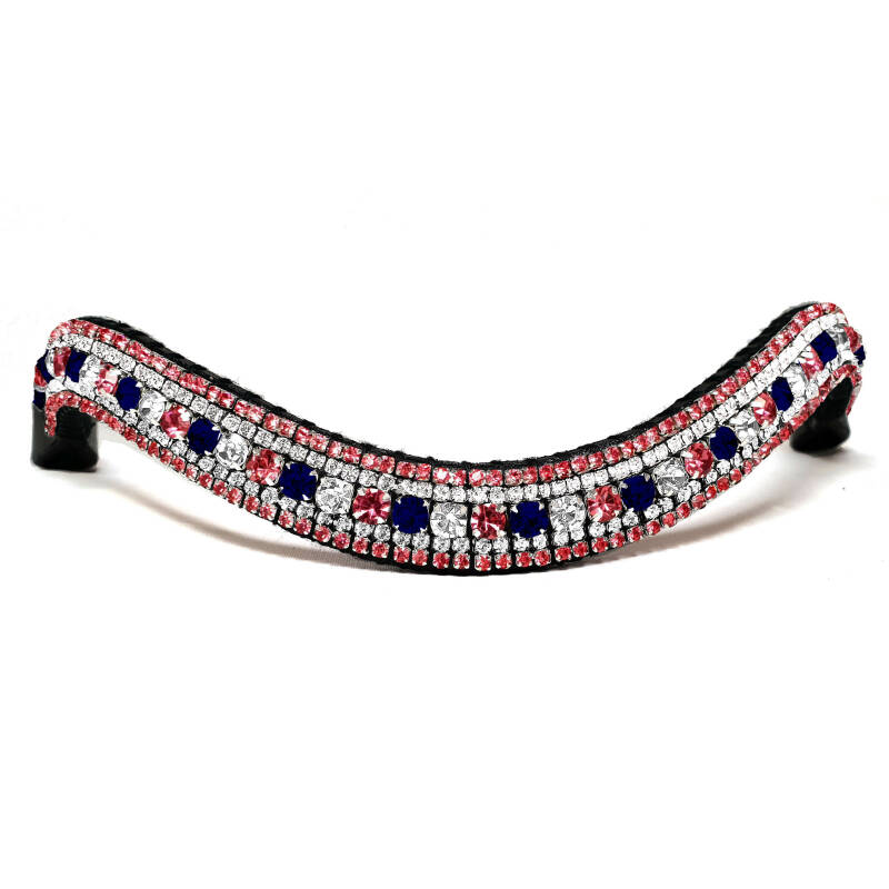 Browband Cranberry