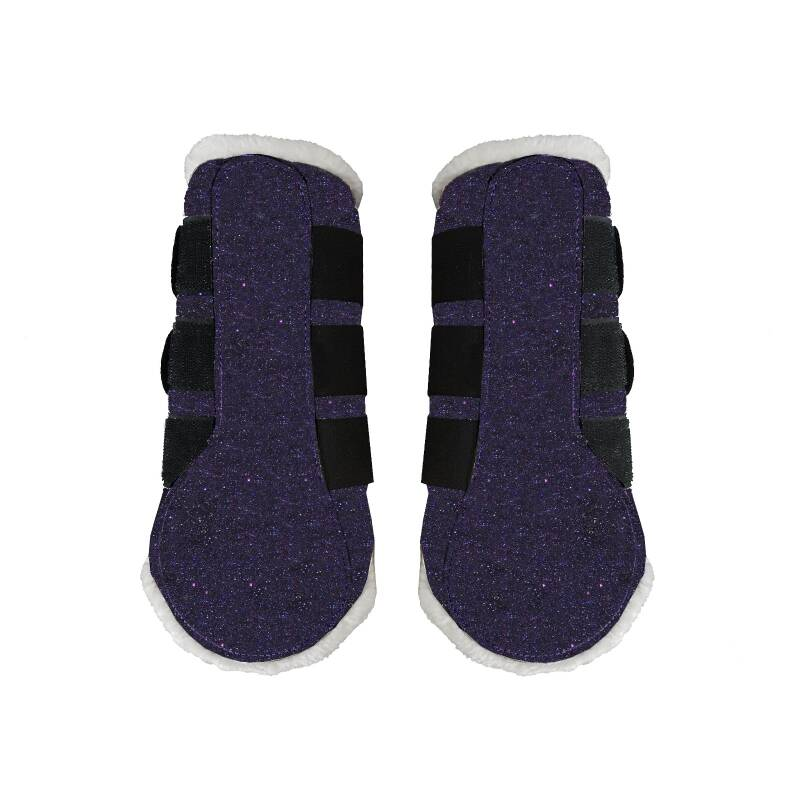 Flextrainers/brushing boots Sparkle Navy