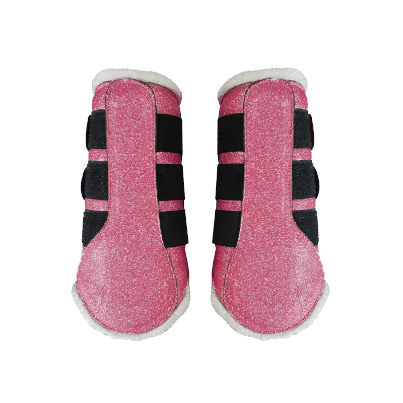 Flextrainers/brushing boots Sparkle Pink