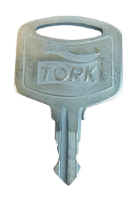 Tork dispensersleutel