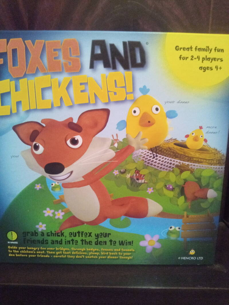 Foxes and chickens board game .ADD TO CART
