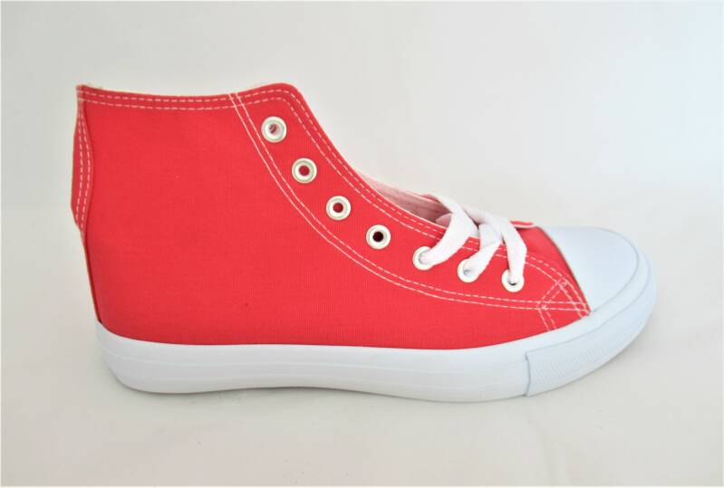 canvas sneakers watermelonred