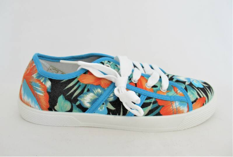 lage canvassneakers Tropical