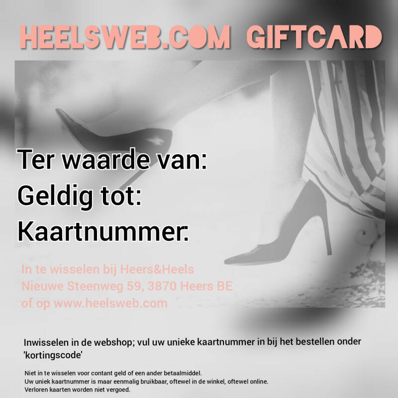 Giftcard 30 euro
