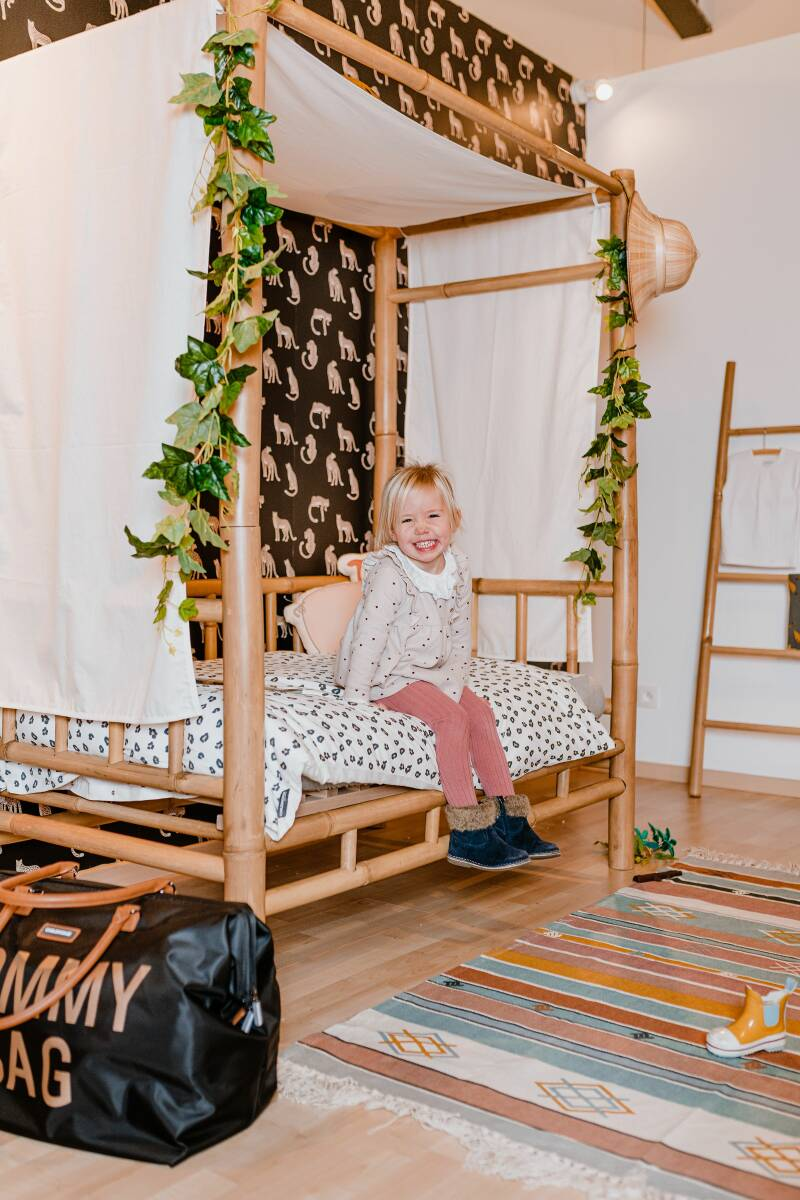 Bamboe Kinderbed 70x140cm Childhome
