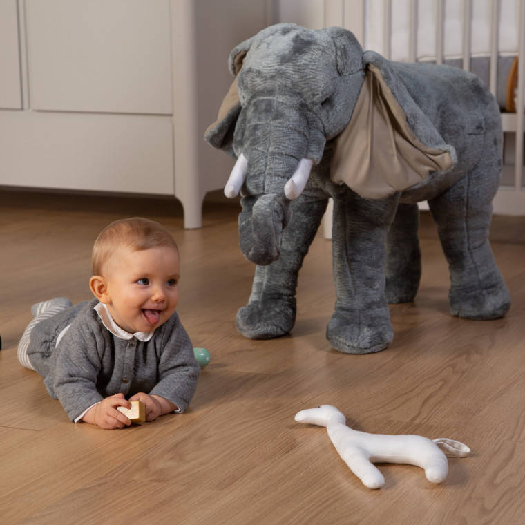 Grote Knuffel Olifant 60cm Childhome