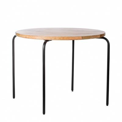 KidsDepot Circle Kindertafel Black