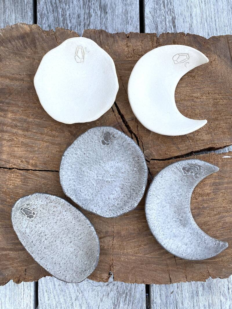 LITTLE ROCKS AND MOONS