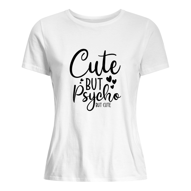 shirt dames cute but psygo