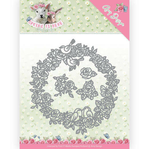 ADD10166 circle of roses