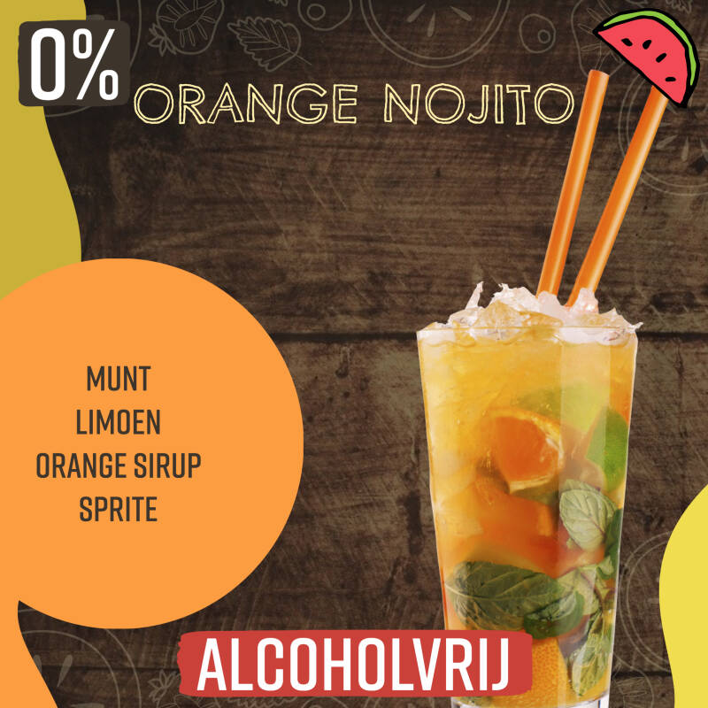 Orange Nojito