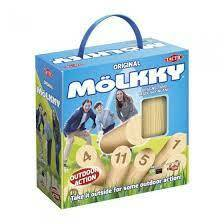 Molkky in Card case with handle