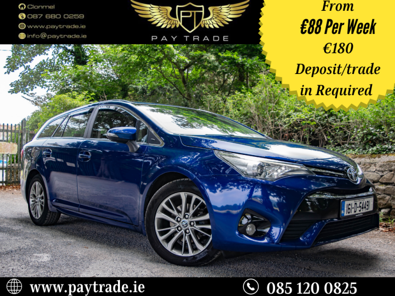 2016 Toyota Avensis 1.6 D-4D Business Edition