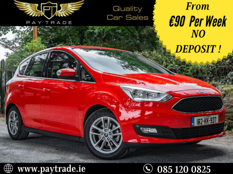 2018 Ford C-Max 1.5 Tdci Automatic Like New Only 11k miles