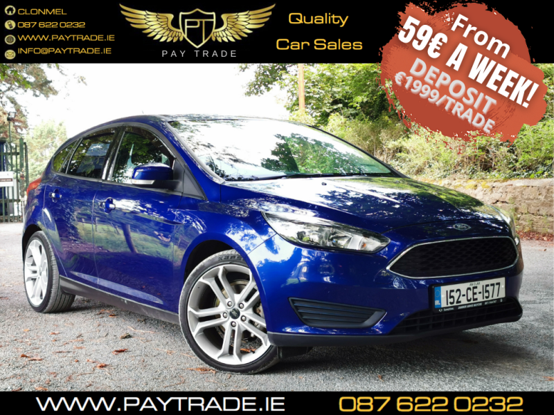2015 FORD FOCUS 1.5 TDCI STYLE LOW TAX FINANCE