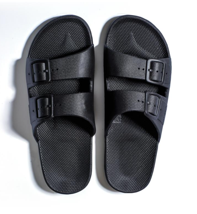 Freedom Moses - BLACK Slippers Adult