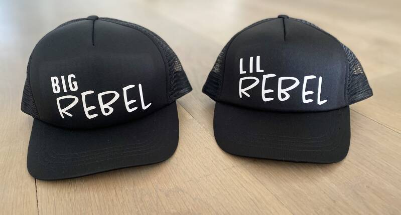 Twinning Truckercap BIG REBEL - LIL REBEL