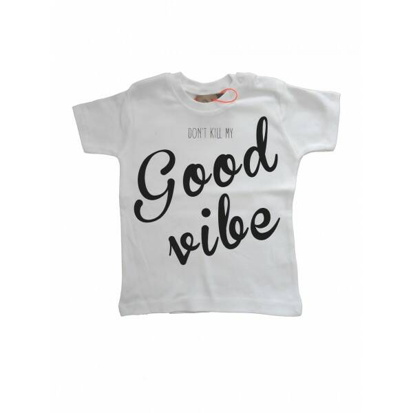 Good Vibe T-shirt Wit