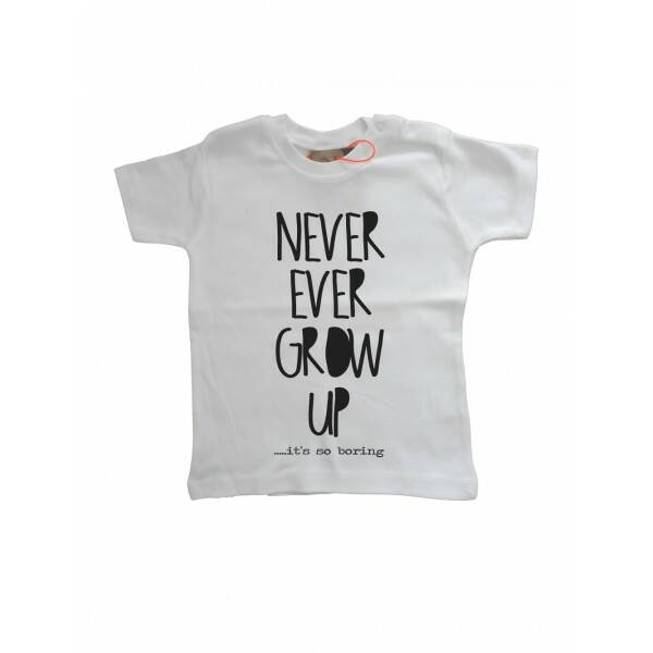 Never Grow Up T-shirt Wi12