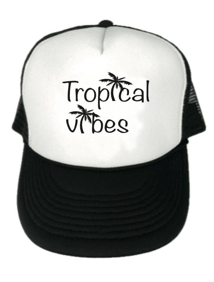 Tropical Vibes Truckercap