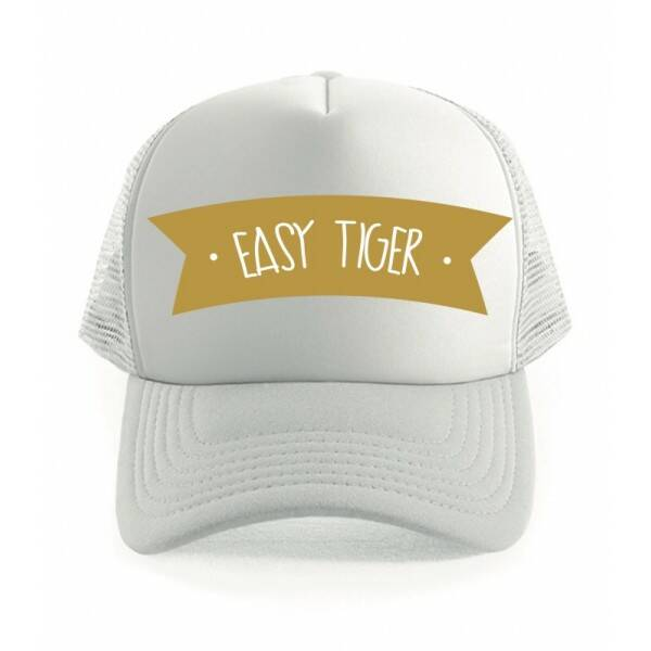 Easy Tiger Truckercap wit