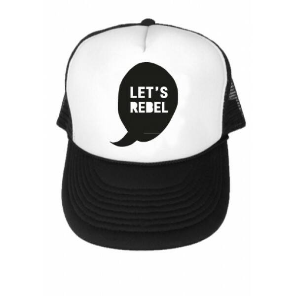 Let's Rebel Truckercap